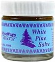 WiseWays Herbals: Salves for Natural Skin Care, White Pine 0.25 oz