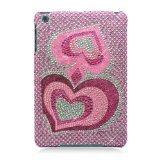 Eagle Cell Diamond Cover for iPad mini - Pink Heart (PDIPADMINIF395)