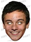 Partyrama Tom Daley Celebrity Cardboard Masks - Single