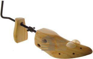 Great Ideas Professional Men's 3 Way Shoe Stretcher Made From Solid Pine Wood - Expands Length, Width And Height Of Tight Fitting Footwear