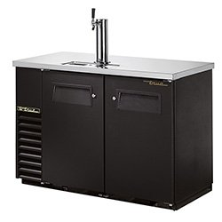 True Tdb-24-48 True Tdb-24-48 - Back Bar Cooler With Direct Draw Beer Dispenser, 2 Solid Doors