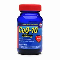 GNC Preventive Nutrition CoQ-10 400mg 30 Soft Gel Capsules