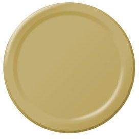 Gold Lunch Plates 24ct