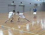 398d 氷見北部中学校・ハンドボール強化練習法