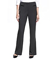 M&S Collection 2 Welt Pocket Bootleg Trousers