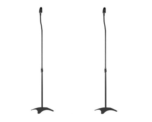 Universal Satellite Surround Sound Home Theater Speaker Stands for