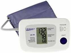 LifeSource UA-767PV One Step Auto Inflation Blood Pressure Monitor Plus Memory, Standard Cuff