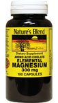 Elemental Magnesium Amino Acid Chelate 300 mg 100 Caps