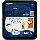 Dulux Solid Silk Pure Brilliant White 2.5L [Misc.]