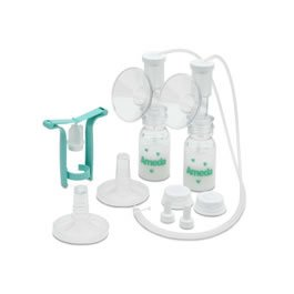 Breast Pump One Hand/Dual Hygn Size: 1 front-626318