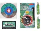 Complete Home Theater Cleaning Kit CD/DVD/Cassette/VCR