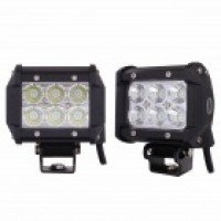 MZ 18W 1440LM LED 60 Flood Work Light Bar Off-road Car Driving Lamp SUV 4WD Boat ATV (2 PCS)