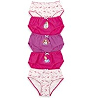5 Pack Pure Cotton Disney Princess Briefs