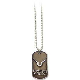 Code Geass: Lelouch Geass Symbol Dog Tag Necklace