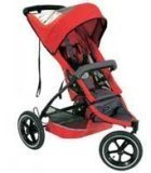 Phil & Teds E3 Buggy - Red