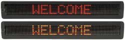 20-Multi Colour Led Moving Message Display 7 X 120
