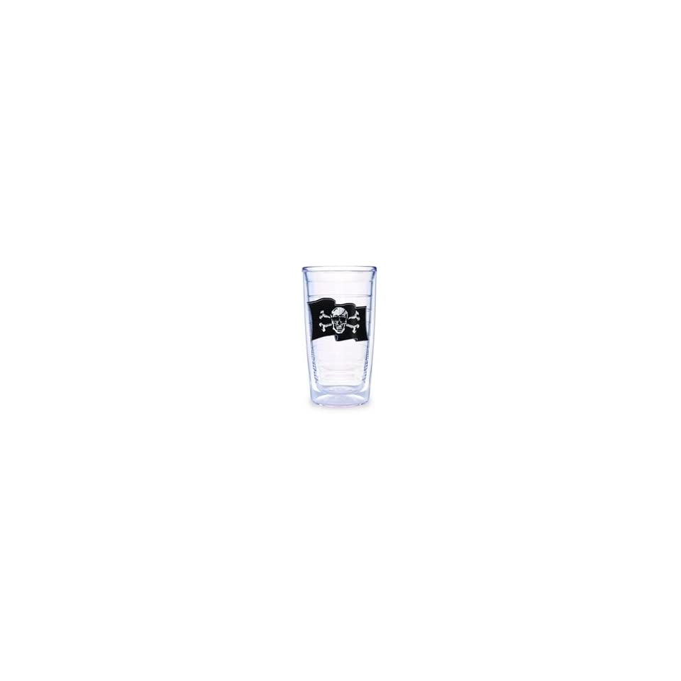 Tervis Tumblers 16oz Set of 4 Jolly Roger Pirate Flag
