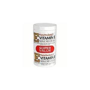 Fruit of the Earth Vitamin-E Cream 4 oz. + 4 oz. Jar
