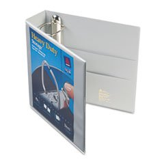 - Heavy-Duty View Binder with One Touch EZD Rings, 3\