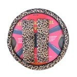 21ffDdZUZEL. SL160  Animal Print Steering Wheel Cover and Shoulder Pad   Cheetah