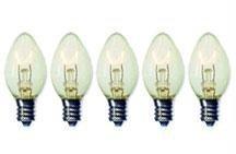 Brilliant Brand Lighting Seasonal Decoration C7 Clear Twinkle Bulbs 5-Watt (25 Pack) front-692344