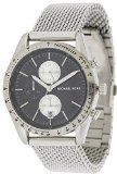 Michael Kors MK8387 42mm Silver Steel Bracelet & Case Mineral Men's Watch