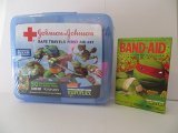 Nickelodeon Teenage Mutant Ninja Turtles Johnson & Johnson First Aid Kit Plus Bandages Band Aids - 1