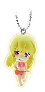 "Bandai Fairy Tail Gashapon Mascot Swing Key Chain Figure ~1.5"" - Lucy Heartfilia - 1"