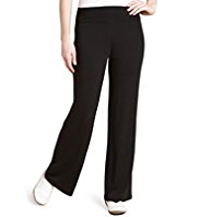 M&S Collection Wide Waistband Straight Leg Joggers