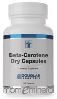 Beta-Carotene Dry Capsules 100 Capsules by Douglas Labs