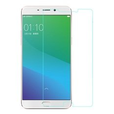 SNOOGG Oppo F1 Plus / Oppo R9Full Body Tempered Glass Screen Protector [ Full Body Edge to Edge ] [ Anti Scratch ] [ 2.5D Round Edge] [HD View] - White