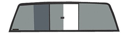 CR Laurence ETRV660S Slider for Nissan Frontier (Nissan Frontier Back Glass compare prices)