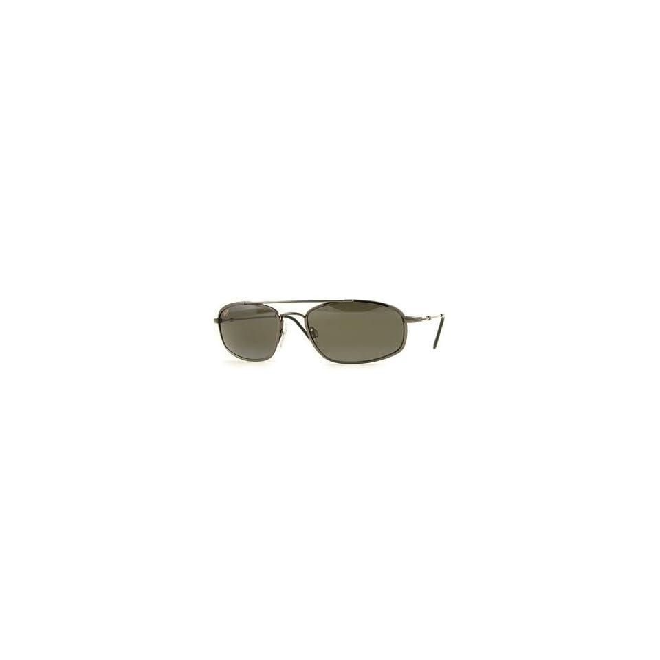 Maui Jim Flexon Sunglasses   Big Island   303 02   Gunmetal Frame w Neutral Grey Lens Clothing
