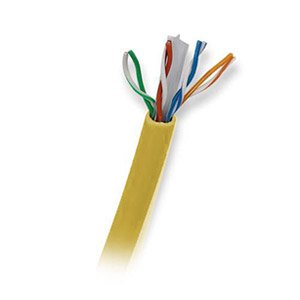 Ultra 500FT CAT6 550MHz Unshielded Twisted Pair UTP Network Patch Cable - Yellow