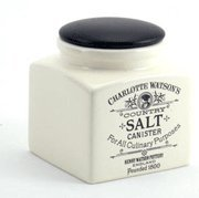 Charlotte Watson Square Small Salt Canister