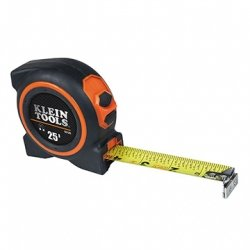 Klein Tools 93125 25 Foot Magnetic Single Hook Tape Measure