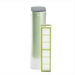 Alen Paralda HEPA Tower Air Purifier with HEPA-Silver Filter for Allergies, Mold, and Bacteria (2-Pack with 4 HEPA-Silver Filters)