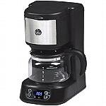 GE 5 Cup Digital Coffee Maker