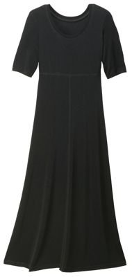 TravelSmith Womens TeaLength Travel Dress Black XL