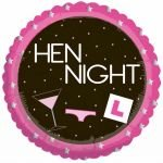 Hen Night 18 Inch Round Foil Balloon