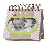 DaySpring Heartlifter Perpetual Flip Calendar w Tear Out Inspiration, God's Promises for New Moms (79293)