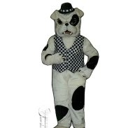 English Bulldog Mascot Costume Medium