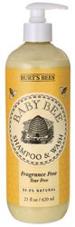 Burt'S Bees Baby Bee Fragrance Free Shampoo And Wash, 21 Fluid Ounces front-893916