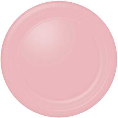 Baby Pink Banquet Plate 24 Count - 1