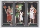 Kirk Hinrich 117 RC (Rookie Card)/LeBron James 111 RC (Rookie Card)/Darko Milicic 112 RC (Rookie Car Chicago Bulls, Cleveland Cavaliers, Detroit Pistons (Basketball Card) 2003-04 Topps Rookie Matrix #HJM Amazon.com