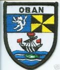 Oban Scotland Embroidered Patch Badge