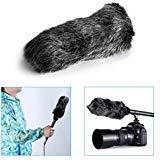Neewer® NW-MIC-121 Outdoor Microphone Furry Windscreen Muff for MIC-01 MIC108 MIC-121 Stereo Microphone, TAKSTAR SGC-598, NW-598, SHENGGU SG209 SG108 & Similar Mics (Color: NW-MIC-121)