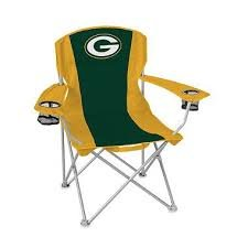 GREEN BAY PACKERS NFL High Back Chairs 2-pack (Green Bay Packers Quad Chair compare prices)
