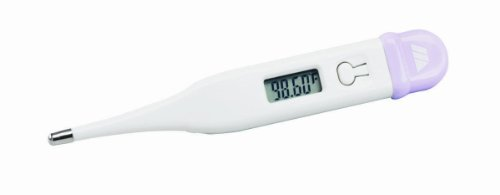 Mabis Dmi Healthcare 15-639-000 Basal Display Digital Thermometer, White front-119903