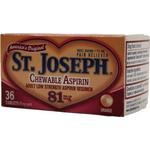 ST.JOSEPH ASPIRIN CHEWTAB 81MG , ORANGE FLAVORED